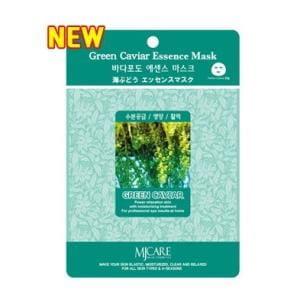 Подтягивающая маска для лица с морским виноградом MJ CARE Essence Mask [Green caviar]