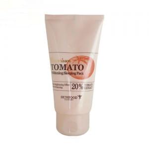 Ночная осветляющая томатная маска Skinfood Premium Tomato Whitening Sleeping Pack 100g