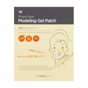 Локальная гелевая листовая маска от The Face Shop Sharp Face Modeling Gel Patch 1Sheet