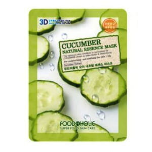 3D-маска с экстрактом огурца Food A Holic 3D Natural Essence Mask [Cucumber]