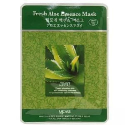 Листовая маска с алоэ MJ CARE Essence Mask [Fresh Aloe]