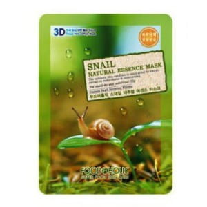 3D-маска с секретом улитки Food A Holic 3D Natural Essence Mask [Snail]