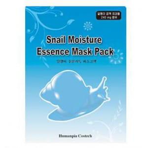 Увлажняющая маска с фильтратом улитки LUS Snail Moisture Essence mask pack