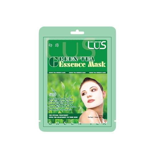 Омолаживающая маска с экстрактом зеленого чая LUS Green Tea Essence Mask 24g