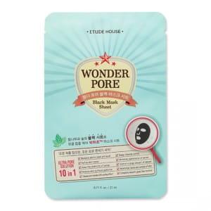 Маска для лица против угрей ETUDE HOUSE Wonder Pore Black Sheet Mask 21ml