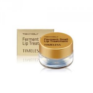 Бальзам для губ с фильтратом слизи улитки Tony Moly Timeless Ferment Snail Lip Treatment 10g