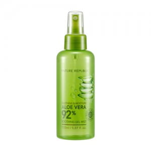 Успокаивающий спрей для тела и лица Nature Republic Soothing & Moisture Aloe vera 92% Soothing Gel Mist 150ml