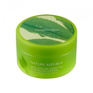 NATURE REPUBLIC Real Nature Cleansing Cream - Green Tea 200ml