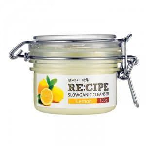 RECIPE Slowganic Cleanser Lemon 100g