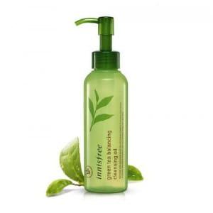 Очищающее гидрофильное масло для лица Innisfree Green Tea Balancing Cleansing Oil 150ml