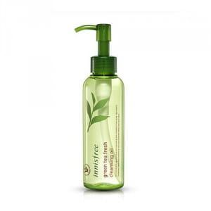 Очищающее гидрофильное масло для лица Innisfree Green Tea Fresh Cleansing Oil 150ml
