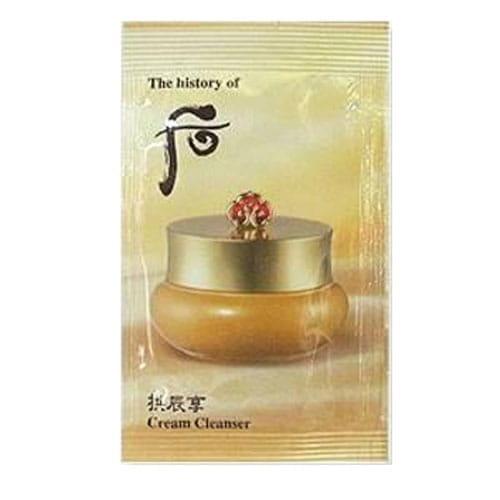 Крем для демакияжа Whoo Gong jin Hyang Cream Cleanser 1ml*10ea