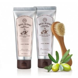 THE FACE SHOP Real Blend Cream Soap 150ml