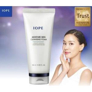 Очищающая пенка для умывания IOPE Moisture Skin Cleansing foam 180 ml