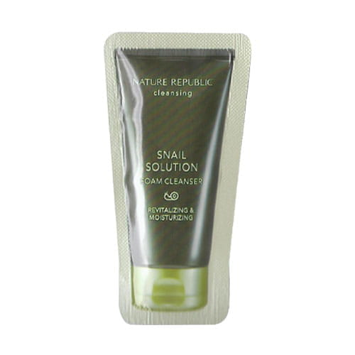 Пенка для умывания  Nature Snail solution foam cleanser 1ml*10ea