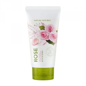 NATURE REPUBLIC Real Nature Rose Foam Cleanser 150ml
