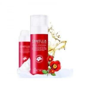 [MERRYSHOP] DEL SKIN Camellia spa oil foam 100ml