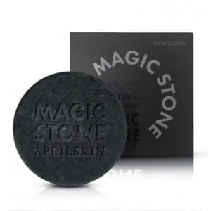 [April Skin] Magic Stone Black (100% Natural Soap)