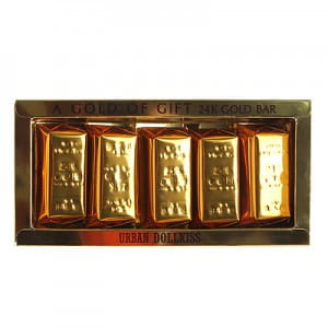 Urban Dollkiss Agamemnon 24K Gold Bar set, 100g*5ea