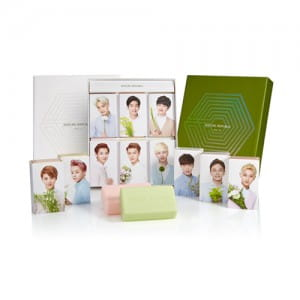 NATURE REPUBLIC Natural Cleansing Soap Set 120g*6ea(Contains moisture)105g*6ea(Drying time)