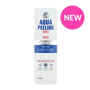 APIEU Aqua Peeling Black Head Swab 2.5ml+3ml