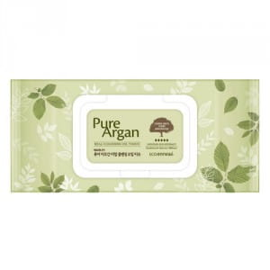 WELCOS Pure Argan Real Cleansing Oil Tissue 70ea