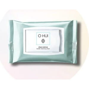 OHUI Clear Science Tender Cleansing Sheet (60sheets)