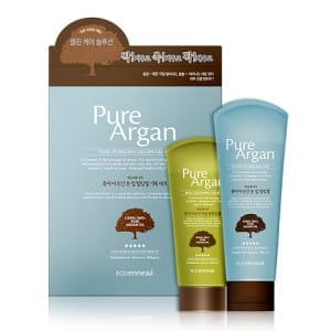 WELCOS Pure Argan Tone Up Peeling Gel Special Set 120g/80g
