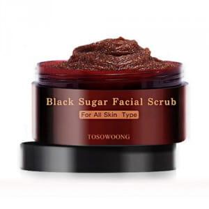 TOSOWOONG Black Sugar Facial Scrub 160g