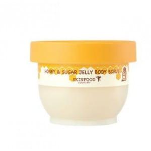 SKINFOOD Honey & Sugar Jelly Body Scrub 200g