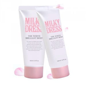 MILKY DRESS The White Brilliant Body 100ml