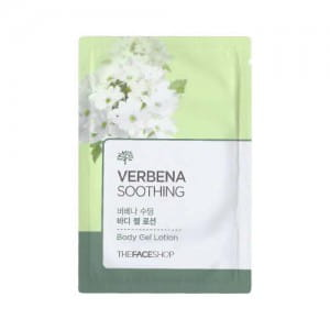 Масло для тела и лица The face shop Verbena soothing body gel lotion 4ml*10ea