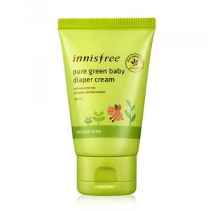 Крем под подгузник Innisfree Pure Green Baby Diaper Cream 50ml