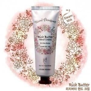 Ультраувлажняющий крем для рук Etude House Hand Bouguet Rich Butter & Heel cream 100ml