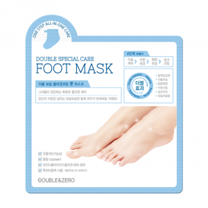 DOUBLE & ZERO Double Moisture Collagen Coating Foot Mask 10ea