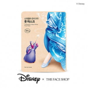 THE FACE SHOP Cinderella's Glass Shoes Foot Mask 18ml (Disney Edition)