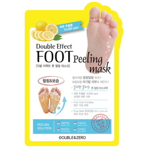 DOUBLE & ZERO Double Effect Foot Peeling Mask 1ea