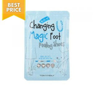 Маска-пилинг для ног Tony Moly Changing U magic foot peeling shoes (1 time use)