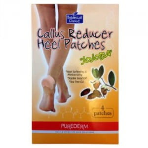 > PUREDERM Callus Reducer Heel Patches 4patches