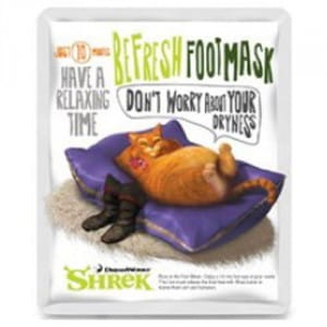 Маска для ног [OLIVEYOUNG] Dreamworks Shrek Be Fresh Foot Mask