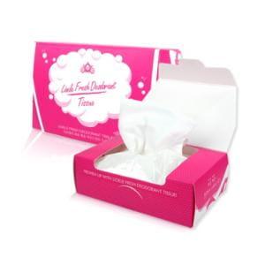 LIOELE Fresh Deodorant Tissue (25 Sheet)
