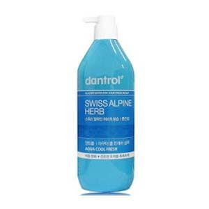 Шампунь против перхоти Dantrol Aqua cool fresh shampoo (dry type) 820 ml.