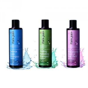 Восстанавливающая серия для волос (ухаживающий и увлажняющий шампунь, маска для волос) ParkJuns Homecare Hairclinic 250ml