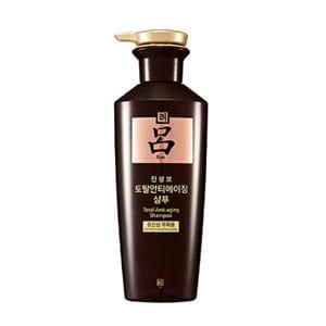 Антивозрастной шампунь для сухих и поврежденных волос RYOE Jinsaeng Total Anti-aging Shampoo [for normal to dry scalp] 400g