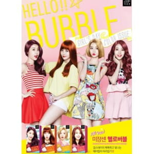 MISEENSCENE Hello Bubble Hair Dye Foam Color Girl's Day