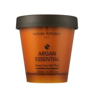 Укрепляющая маска для волос Nature Republic Argan essential deep care hair pack 200ml