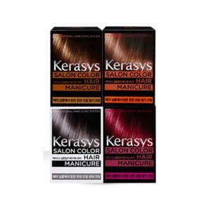 Краска для волос (маникюр для волос) KERASYS Salong Color Hair Manicure wine burgundy 200ml