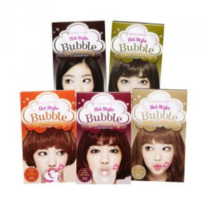 Краска для волос Etude House Hot Style Bubble Hair Coloring NEW