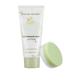 Крем для эпиляции NATURE REPUBLIC Cotton Hair Removal Cream 60g
