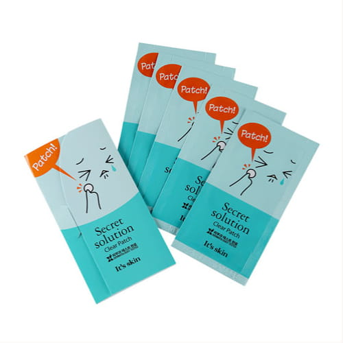 Патчи для борьбы с акне It's Skin Secret solution Clear Patche 5 sheet (60 patches)